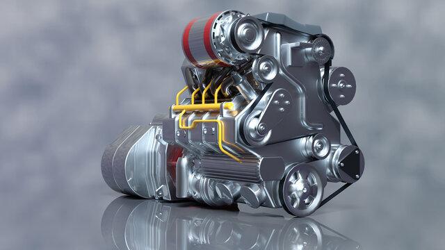 Hybridmotor als alternative Antriebstechnik im PKW