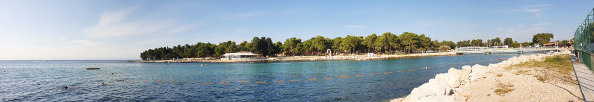Plava Laguna in Monterol Kroatien
