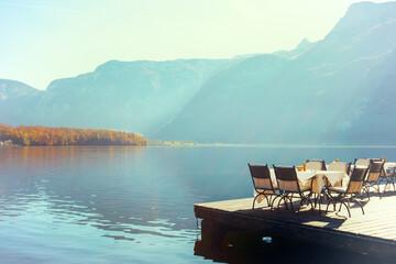cafe on the lake