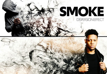 Smoke Dispersion Effect Mockup