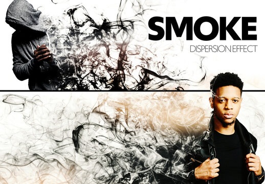 Smoke Dispersion Effect Mockup