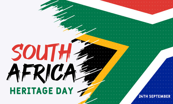 Heritage Day in South Africa. Public holiday celebrated on 24 September. On this day, South Africans are encouraged to celebrate their culture and the diversity of their beliefs and traditions.