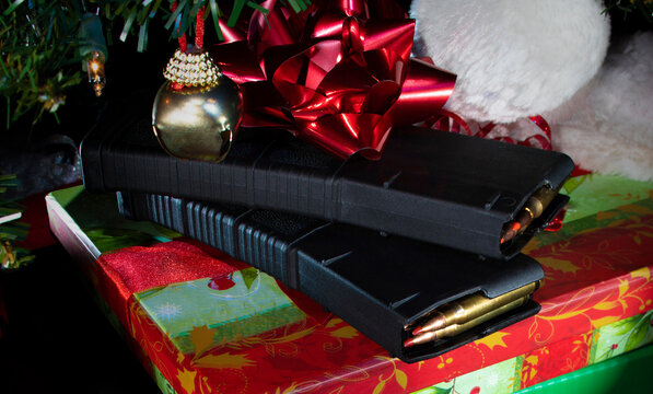 Ammo and magazines under the Christmas tree