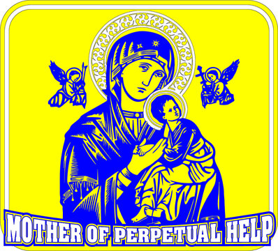 mother of perpetual help cut out