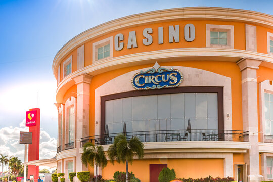 Merida, Mexico-22 December, 2020: Merida Casino located close to Paseo de Montejo