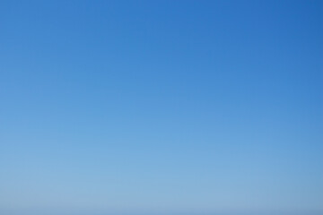 Blue abstract background, the sky on a sunny day