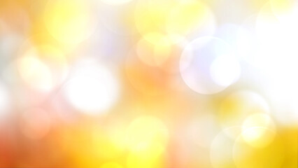 Wall Mural - Colorful yellow natural blurred bokeh background.
