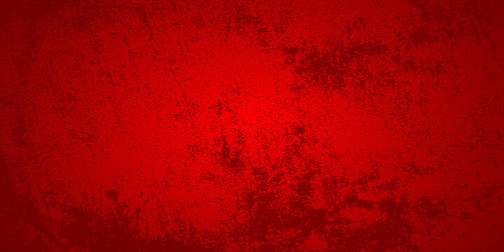 Abstract red grunge background. Vector illustration.