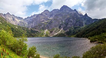Panorama Tatra Mountains in Poland