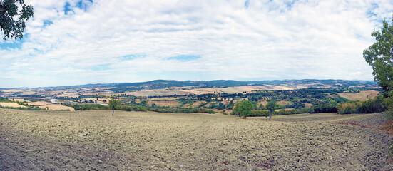 Tuscany landscape, the countryside of Maremma