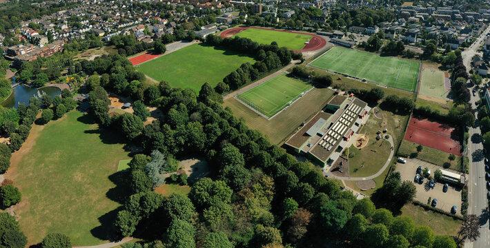 Panorama Gigapixel Langenfeld Jahnstadion