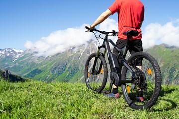 E Bike Cycling In Austria