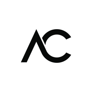 illustration vector graphic of ac letter logo