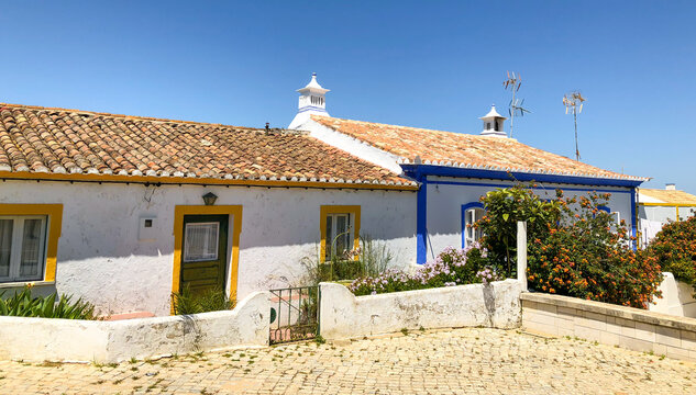 Cacela Velha in Algarve, Portugal This small sleepy village is located on a hill overlooking the easternmost lagoon of the Ria Formosa.