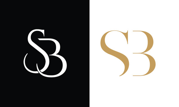 SB ,BS ,S ,B  Abstract Letters Logo monogram