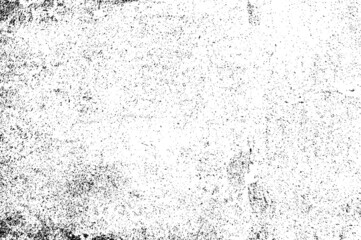 Black and white grunge vector abstract texture background. Grungy dark dirty grain detail stain distress paint on old age wall textured, retro overlay backdrop