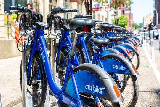 Rental bikes in New York