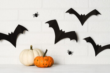 Papiers peints Fleur Halloween decoration