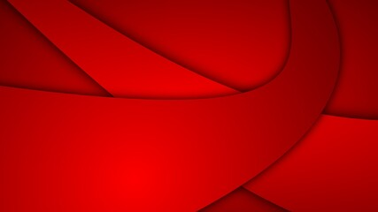 Wall Murals Abstract wave red abstract wave background