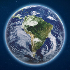 Wall Mural - Planet Earth from space