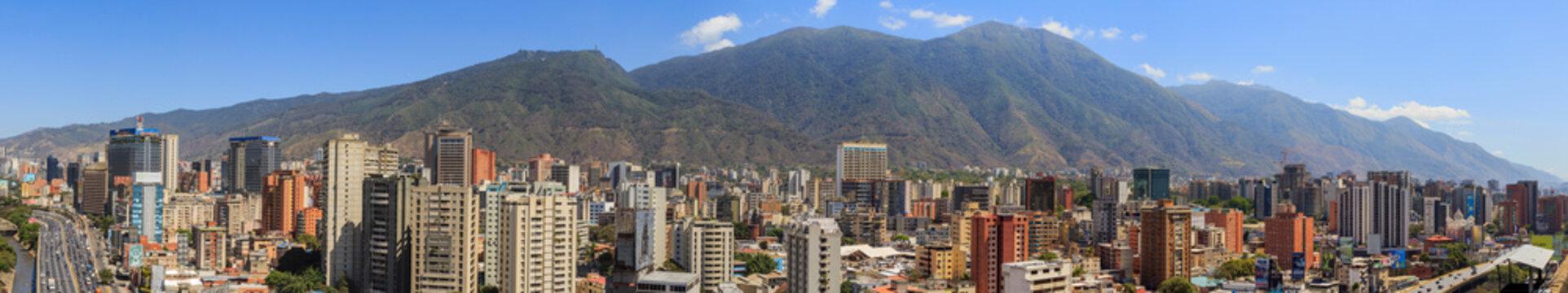Avila and Caracas Panoramic from Venezuela