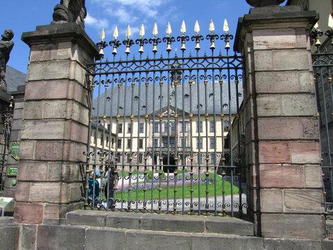 Barocker Zaun barockes Stadtschloss Fulda