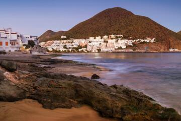 Coastal townscape, San Jose, Costa Almeria, Andalusia, Spain