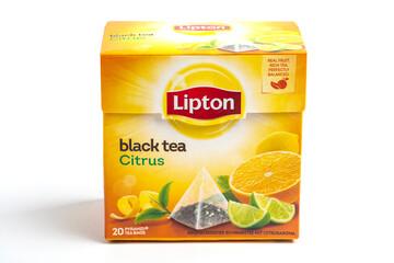 Box of Black Tea Citrus
