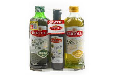 Three Bottles BERTOLLI OLIVE OIL