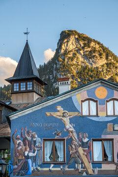 Oberammergau mit Kofel