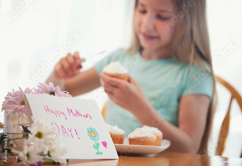 Mother's Day: Making Cupcakes for Mother's Day