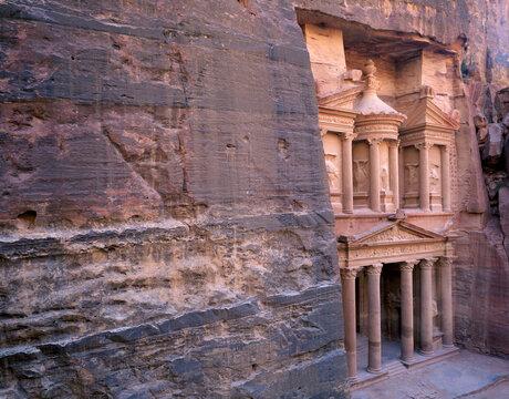 The Treasury at Petra. Jordan.