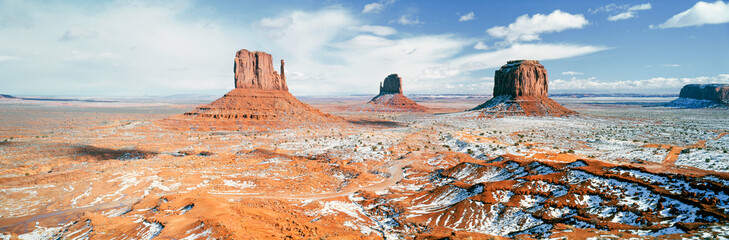 United States of America, Arizona, Monument Valley Navajo Tribal Park, 'The Mittens'