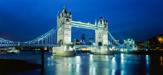 Tower Bridge and River Thames, London, England, UK, Europe