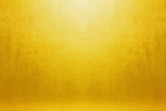 高級感のある金屏風 年賀状 金箔 アンティーク レトロ