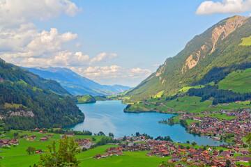 Lungern, Lungernsee, Schweiz