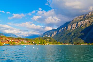 Brienz, Brienzersee, Schweiz