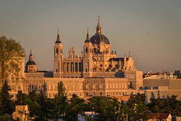 Printed roller blinds Madrid Catedral de La Almudena