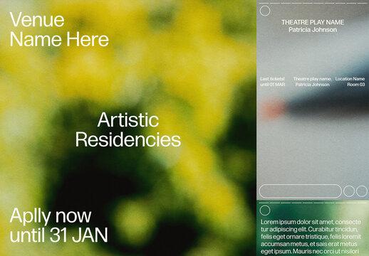 Dream Landscapes Social Media Layout Set