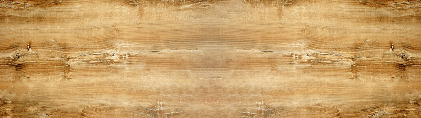 Obraz old brown rustic light bright wooden oak texture - wood background panorama banner long  - fototapety do salonu