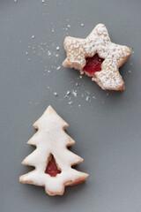 Food: christmas cookies on a plate