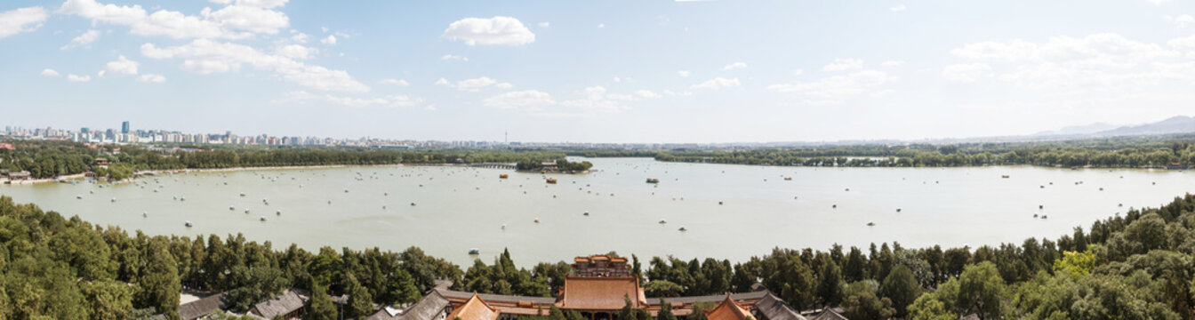 Panorama of the Summer Palace, Beijing