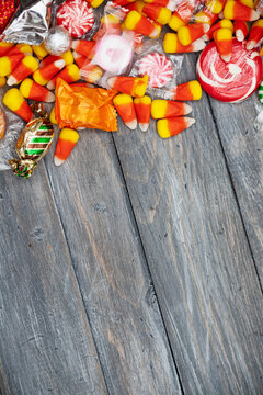 Halloween: Fun Candy Holiday Background