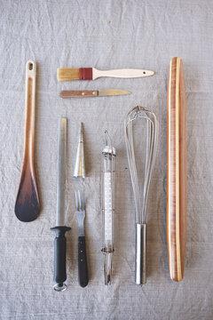 much loved kitchen utensils