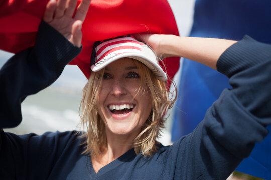 Beautiful American Woman