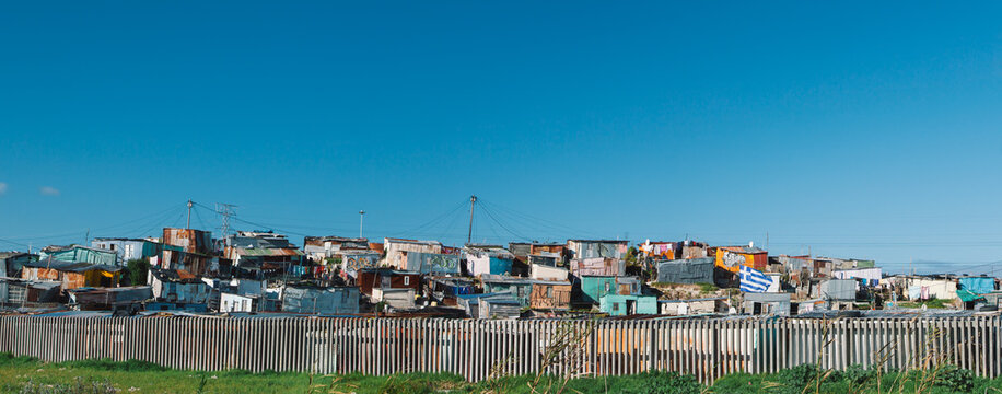 Panoramic of a South African Township