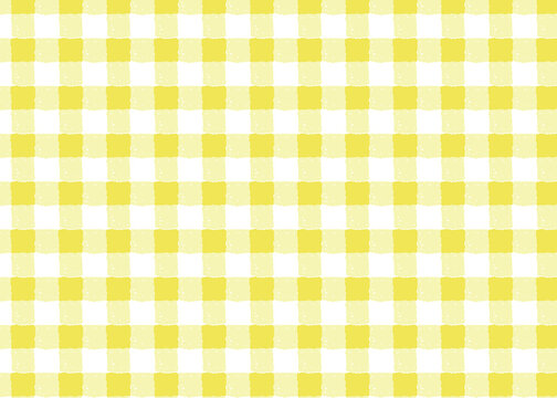 yellow gingham background