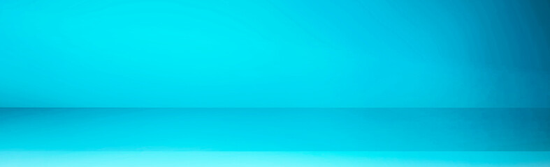 Photo sur Plexiglas Turquoise Empty display background material. Studio background, pedestal background, indoor background, product display, etc. 何もないディスプレイの背景素材。スタジオ背景、台座の背景、屋内背景、製品ディスプレイなど