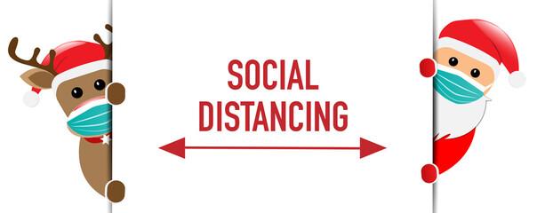 Social Distancing Christmas