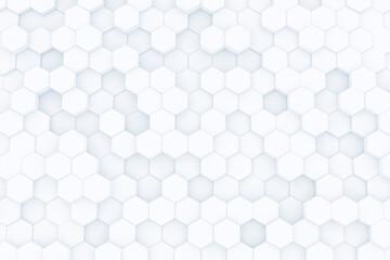 Abstract hexagon honeycomb background